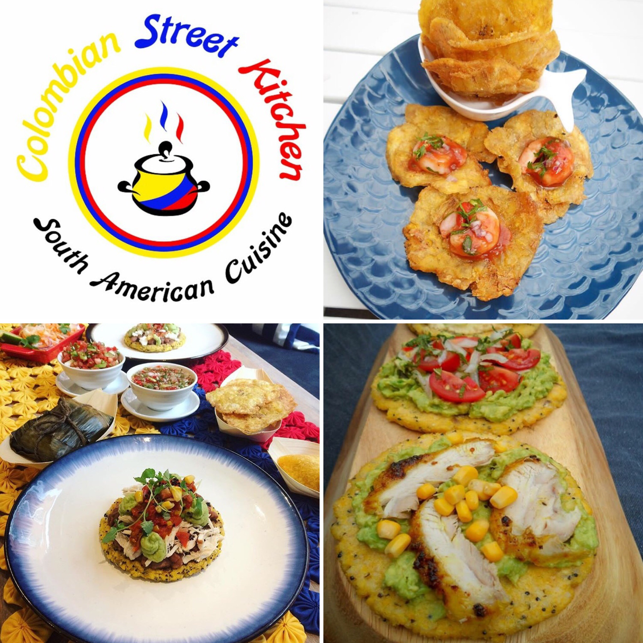COLOMBIAN STREET KITCHEN - STARTS WEDNESDAY THE 19TH OF JULY