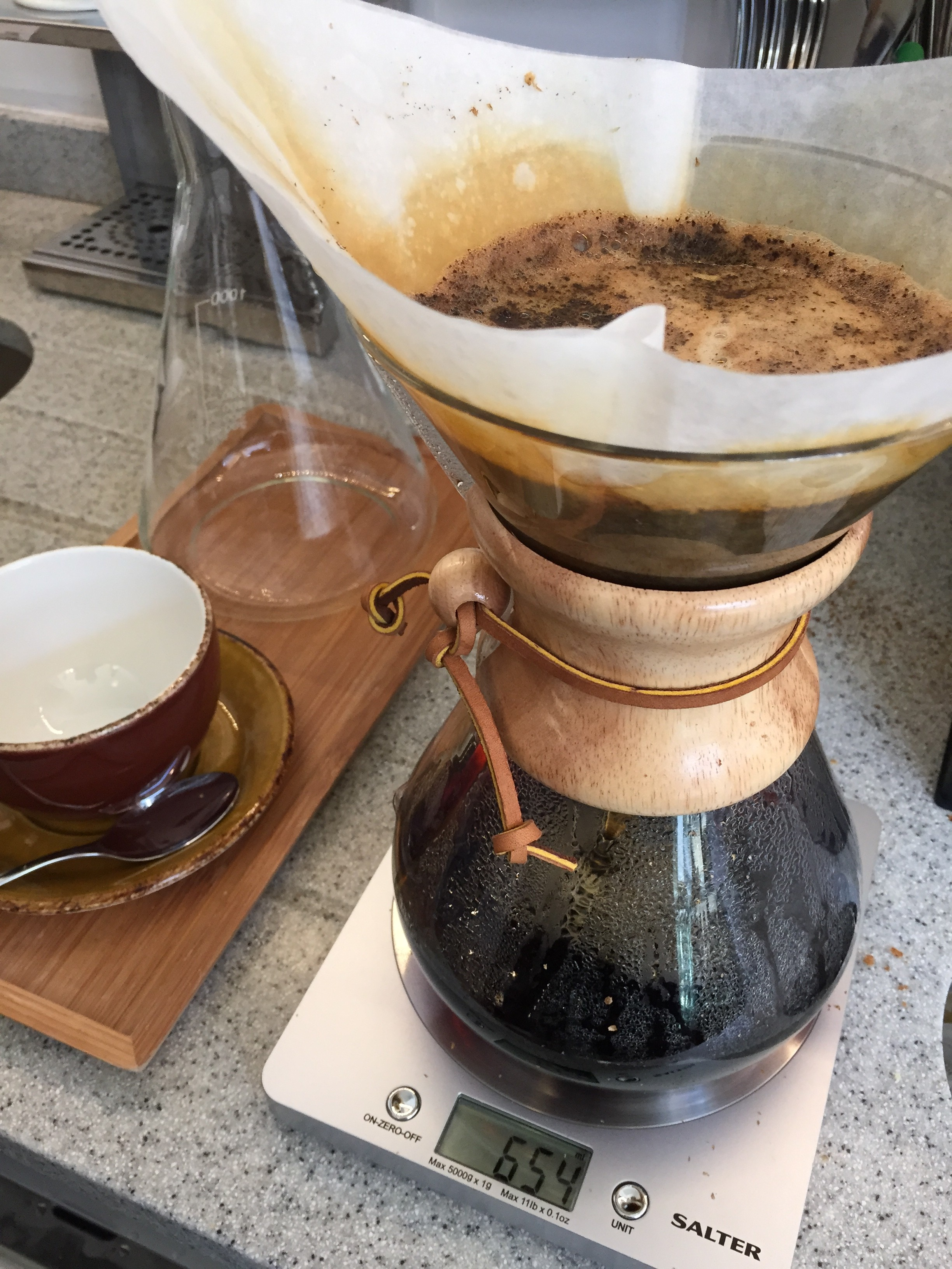 Chemex - a gorgeous way to share a coffee!