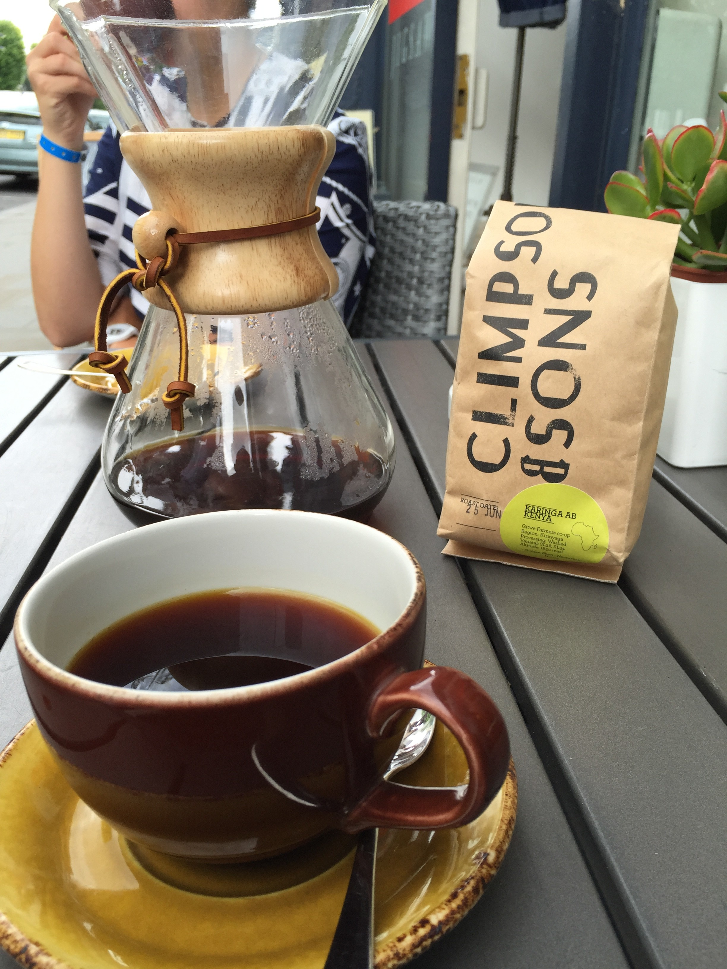 Climpsons single origin coffee
